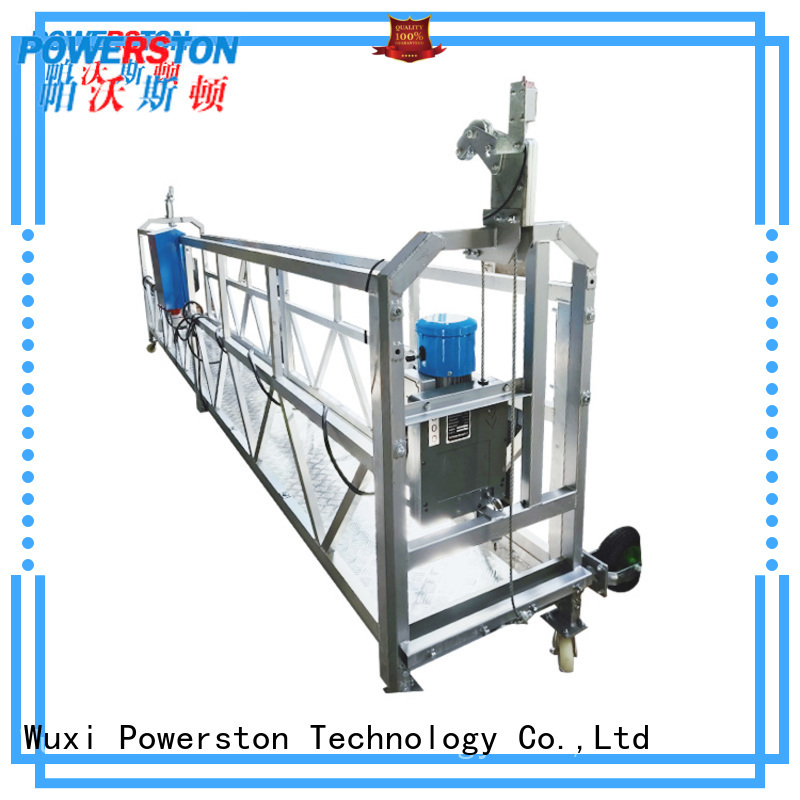 Powerston zlp630 aerial access platform for business for window cleaning