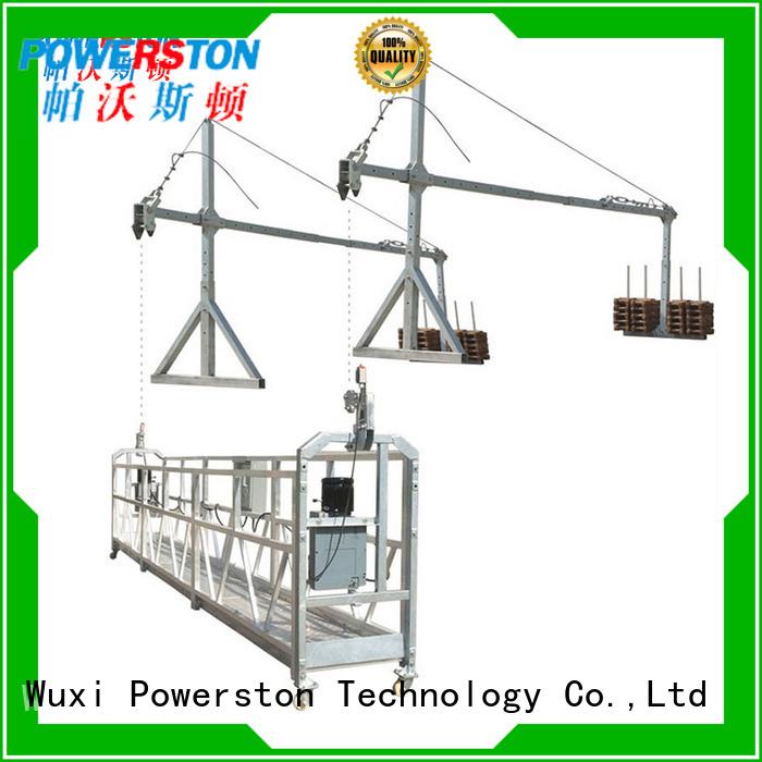 Powerston top hoist platform for chimney construction