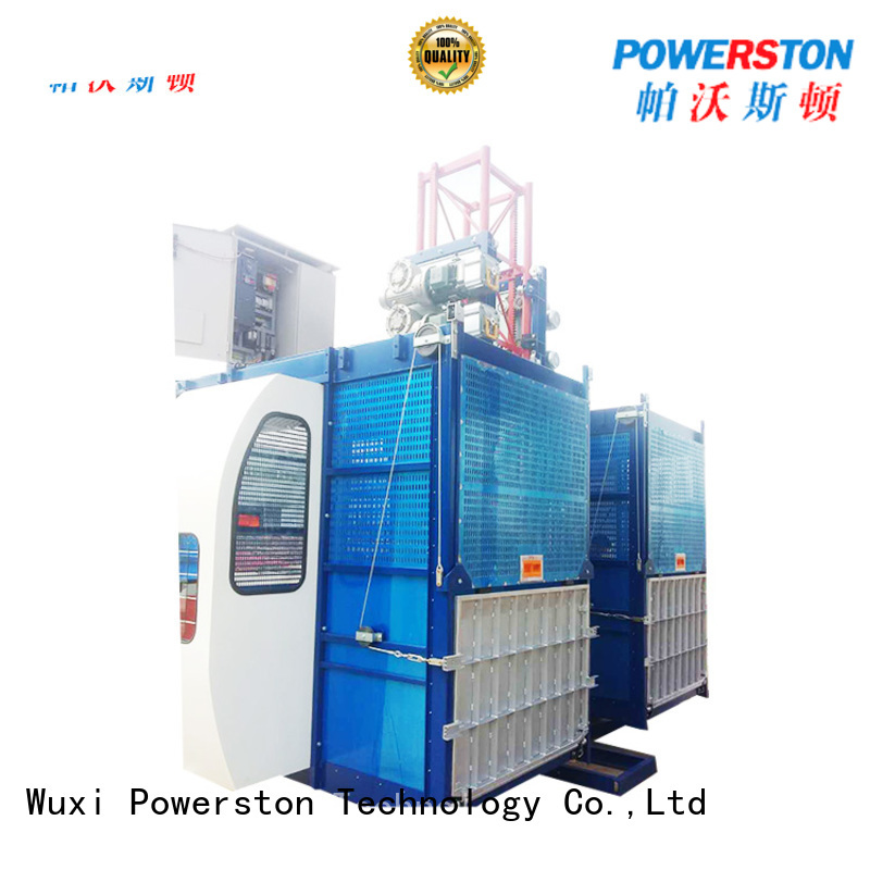 Powerston cage construction mini lift price suppliers for window cleaning
