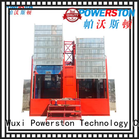 Powerston best manual man lift suppliers for bridge construction
