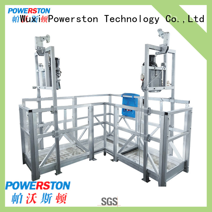 Powerston zlp swing stage equipment for sale for business for construction inspection and maintenance