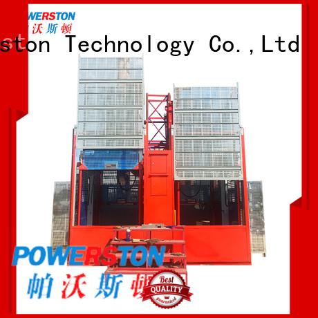 Powerston custom trailer crane hoist for business for chimney construction