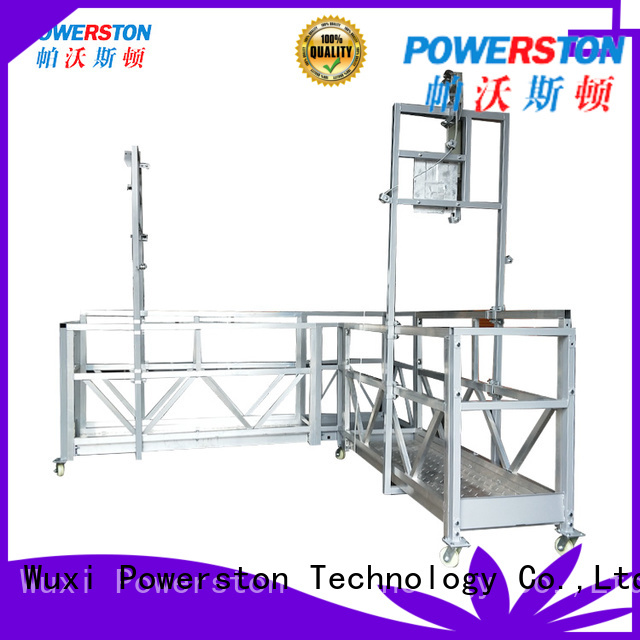 Powerston hoist scaffold uprights factory for chimney construction