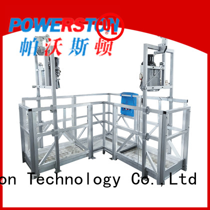 swing stage equipment for sale platforms factory for chimney construction