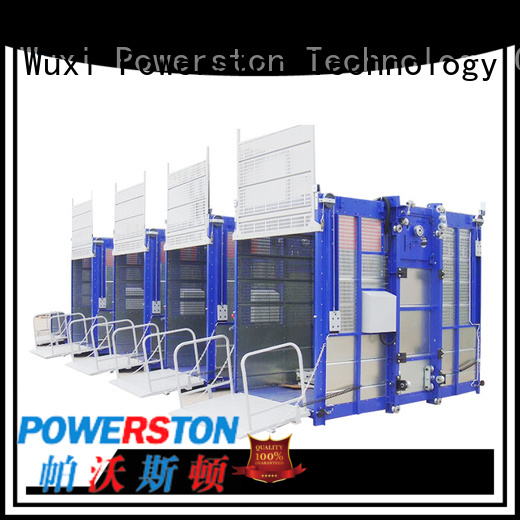 Powerston custom construction site hoist suppliers for window cleaning