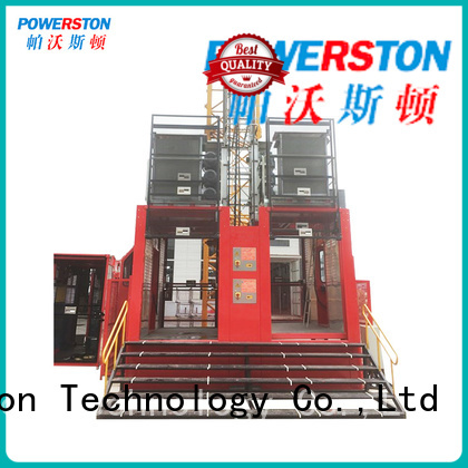 Powerston outdoor safety hoist for business for chimney construction