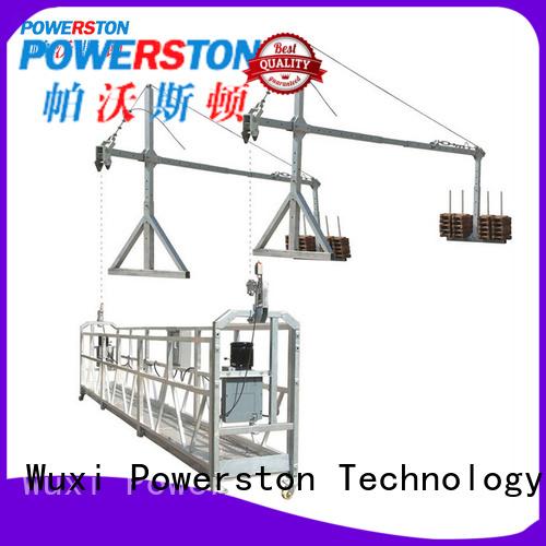 Powerston zlp630 working platform design manufacturers for chimney construction