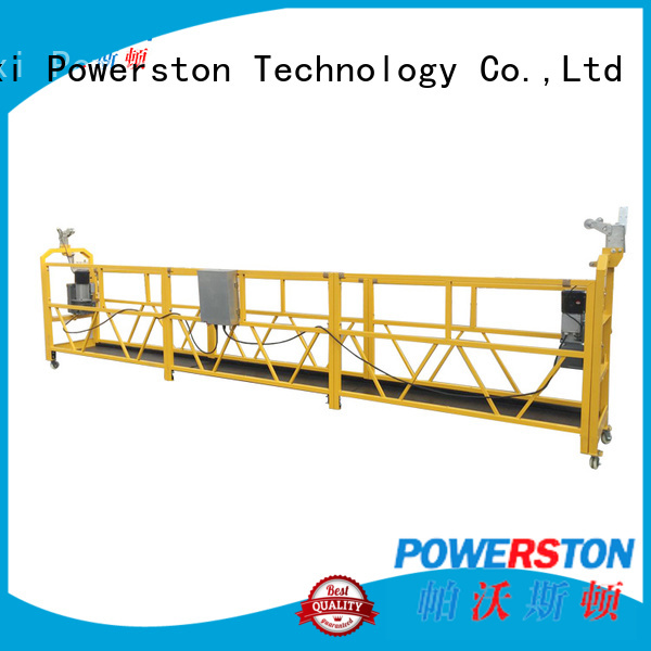 Powerston scaffold tractel swingstage factory for chimney construction