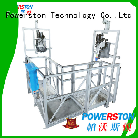 Powerston hanging suspended access manufacturers for construction inspection and maintenance