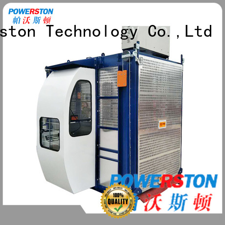 Powerston construction hoist suppliers for construction inspection and maintenance