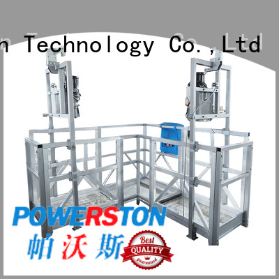 Powerston suspended platform gondola factory for construction inspection and maintenance