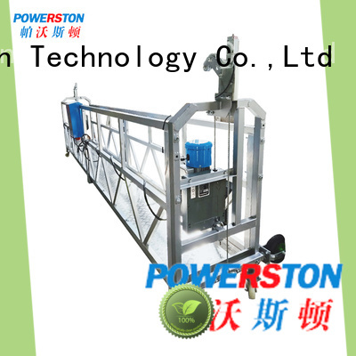 Powerston best suspended scaffolding prices factory for bridge construction