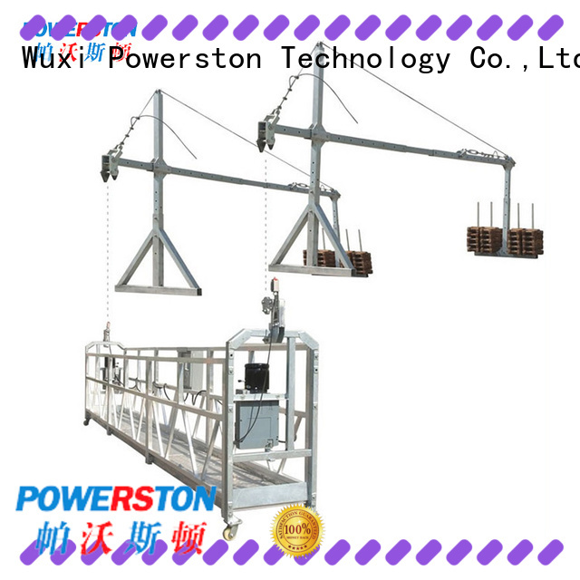 Powerston wholesale swing stage scaffolding for sale company for bridge construction