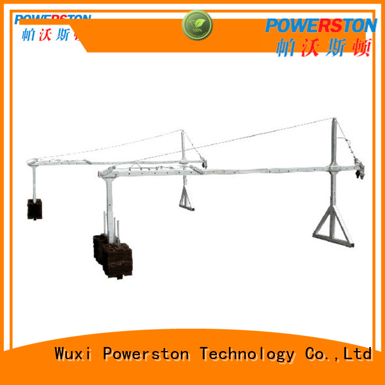Powerston exterior hanging staging supply for construction inspection and maintenance