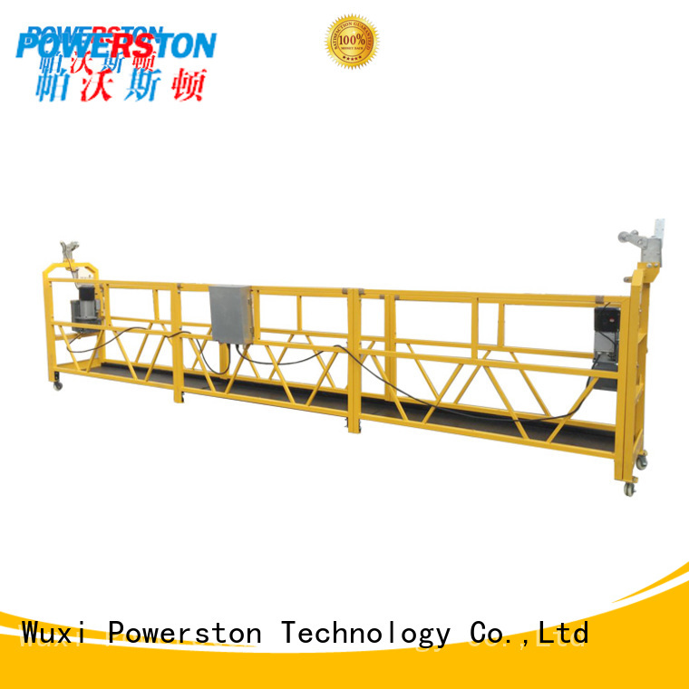 Powerston best zlp 630 suspended platform factory for window cleaning