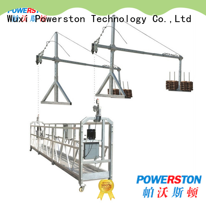 Powerston custom working platform design for business for bridge construction