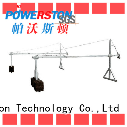 Powerston electric types of suspended scaffolding supply for construction inspection and maintenance