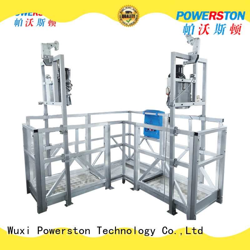 Powerston wholesale temporary work platforms supply for window cleaning