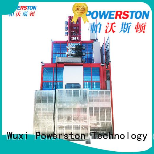 Powerston single hoist and crane for business for bridge construction