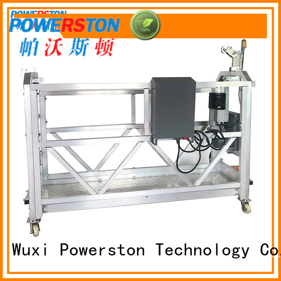 Powerston suspension stage scaffolding manufacturers for high-rise building