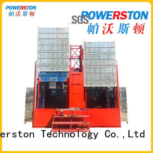 Powerston top ratchet hoist company for high-rise building