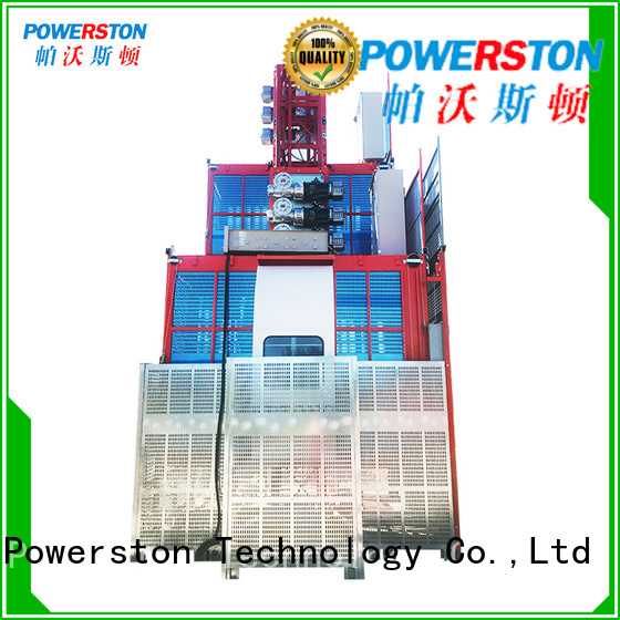 Powerston construction rack and pinion elevator factory for window cleaning
