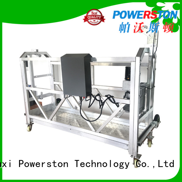 Powerston maintenance hanging staging suppliers for construction inspection and maintenance