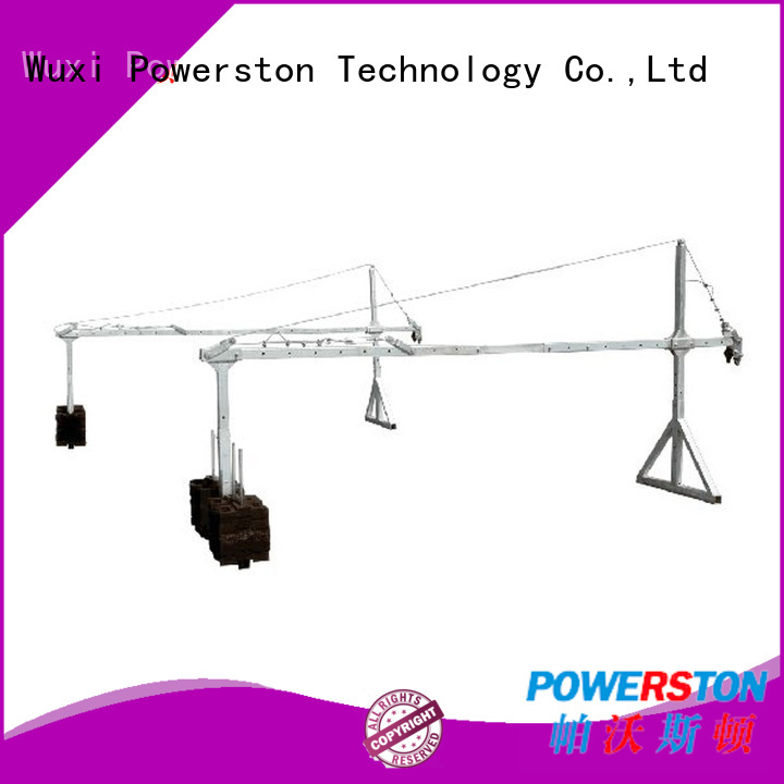 Powerston zlp630 roof work platform supply for high-rise building