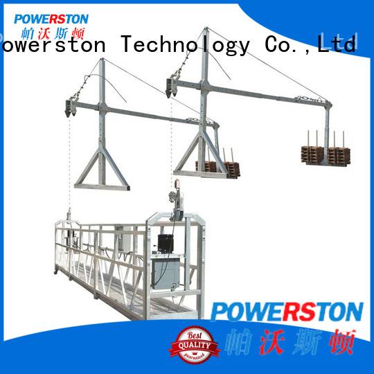Powerston hoist steel work platform suppliers for high-rise building