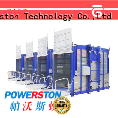 Powerston latest material hoist ticket manufacturers for chimney construction