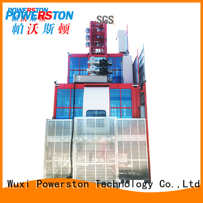 Powerston elevator lift construction cost for business for window cleaning
