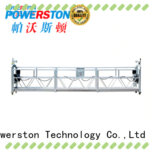 Powerston building mast climbing work platform manufacturers for construction inspection and maintenance
