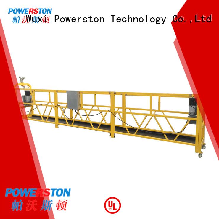 Powerston working gondola suspended scaffold factory for bridge construction