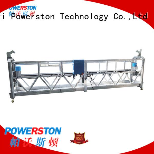 Powerston hoist platform supply for construction inspection and maintenance