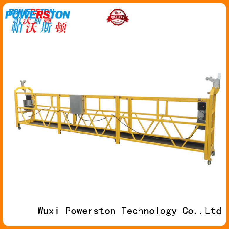 Powerston spider stage platform suppliers for chimney construction