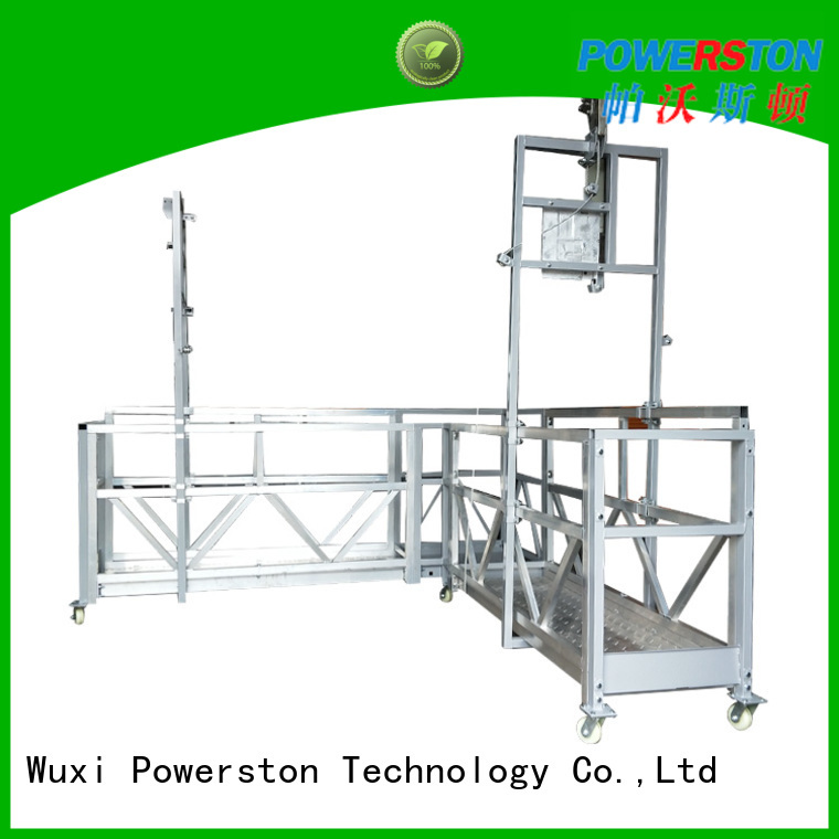 Powerston painting platform suppliers for window cleaning