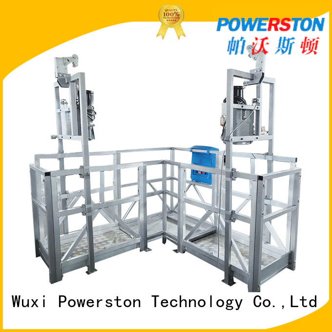 high-quality rope suspended platform manual cleaning manufacturers for chimney construction