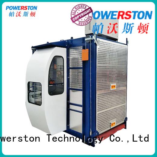 Powerston wholesale building hoist factory for chimney construction