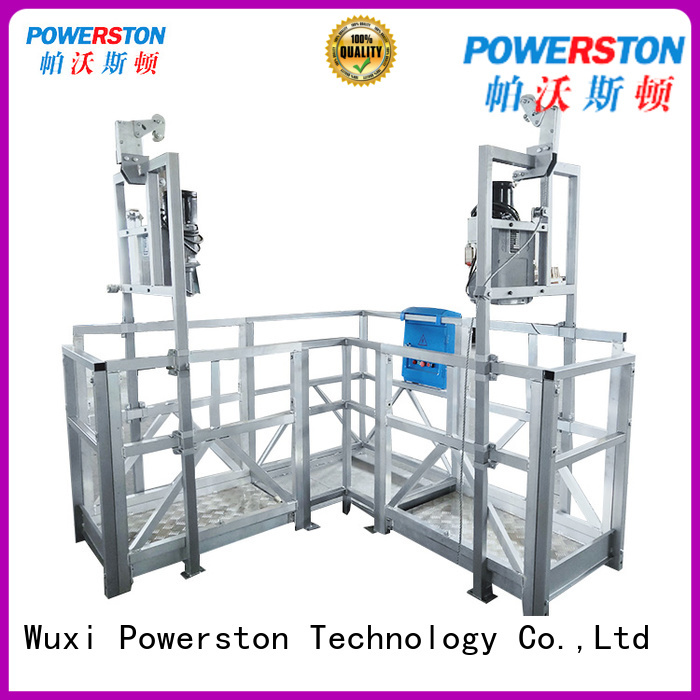 Powerston hanging roof work platform factory for high-rise building