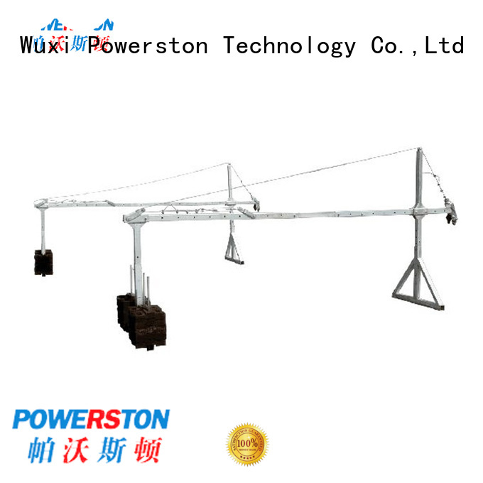 Powerston top blade platforms for construction inspection and maintenance
