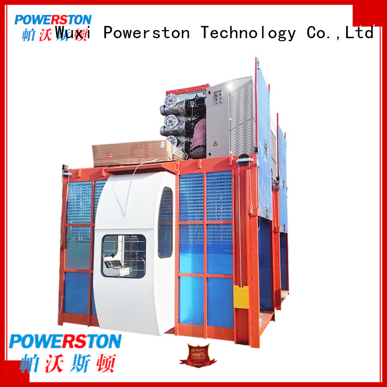 Powerston people rigging hoist manufacturers for construction inspection and maintenance