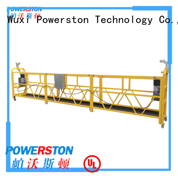 Powerston scaffolding suspended platform hoist supply for high-rise building